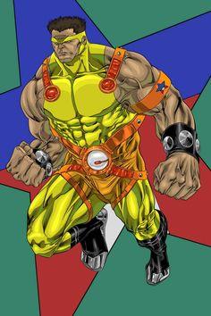 Black Characters, Comic Book Characters, Comic Books, Fictional Characters, Character Portraits, Character Art, Character Design, New Hulk, Overwatch