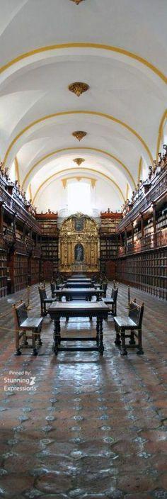 Biblioteca Palafoxiana Puebla #Mexico