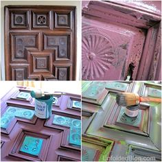 Pinspiration,+Thunderstorms+and+Creating+Wall+Art+With+Chalk+Paint®!