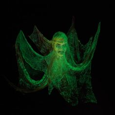 Your party guests are sure to shriek at the sight of your Glow-in-the-Dark Floating Head.