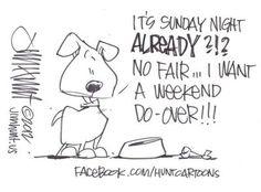 It's Sunday night - sz  *