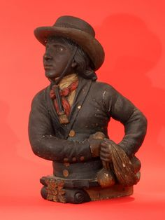 """Important Figurehead from the Slave ship """"Piratenim"""" Captured 1851 - Inventory - Hyland Granby"""