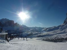 09.12.2012 Traumhafte Winterlandschaft, optimale Pistenverhältnisse - paessaggio invernale magnifico, piste perfette - wonderful winter landscape, perfect slopes