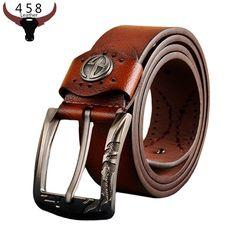 Cowskin Designer Belts