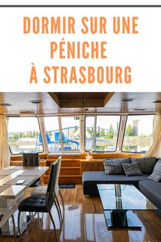 J'ai testé un hébergement insolite: dormir sur une péniche à #Strasbourg! La Péniche le Rohan est 100% approuvée par Mon week-end en #Alsace! Strasbourg, Week End Alsace, Destinations, Outdoor Decor, Home Decor, Homemade Home Decor, Places To Travel, Viajes, Interior Design