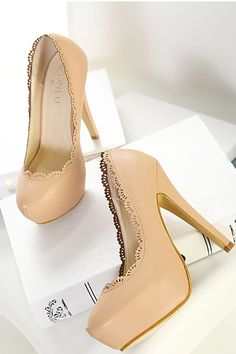 shoes- http://zzkko.com/n163892-013-autumn-new-lace-round-bottomed-hollow-waterproof-Taiwan-high-heeled-shoes-single-shoes-nightclub-fine-with-the-trend.html $14.17