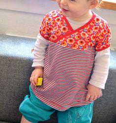 Schnittmuster selbernähen Shirt Tunika für Mädchen Lieblingstunika 2.0, size 80