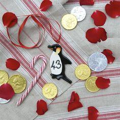 43 Days till Christmas. Love a Penguin.