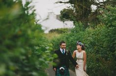 Chloe + Stuart's Romantic UK Lake District Garden Wedding : Dylan + Joanna / Kitchener Photography