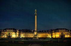 Der Schlossplatz in Stuttgart Foto: Leserfotograf grekop