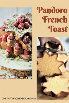A must on Christmas morning and the perfect way to use leftover Pandoro! #frenchtoast #pandorofrenchtoast