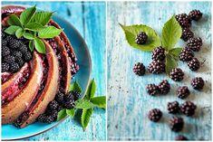 Tvarohová bábovka s citronovou polevou a ostružinami - Curd bundt cakes with lemon sauce and blackberry www.peknevypecenyblog.cz