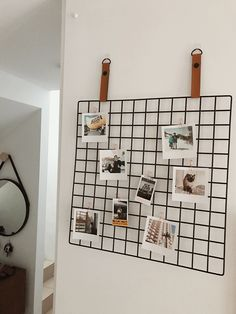 How I've styled my little polaroids from Printiki. #meshboard #walldecor #walldecoration #roomdesign #roomideas #roomdecor