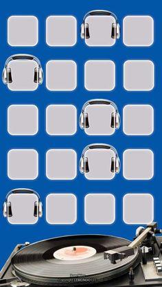 Music iPhone 5 icon skin