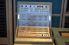 "This computer was used from about 1967 through 1990 by the U.S. Air Force's Satellite Control Facility in Sunnyvale, California, in the heart of ""Silicon Valley."""