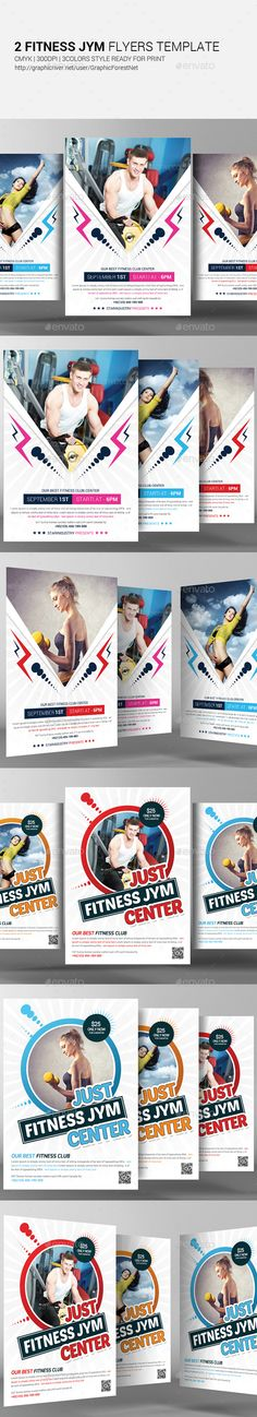 Fitness Flyer Design Flyer template, Template and Flyer design - fitness flyer