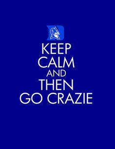 COUNTDOWN TO CRAZINESS IN ONE DAY! I guess for now Keep Calm and then Go Crazie tomorrow!