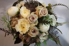 champagne wedding bouquets - Google Search