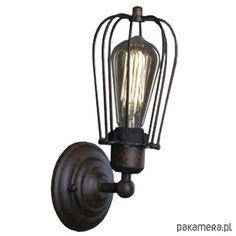 lampy-Lampa kinkiet KOPENHAGEN LOFT RUSTY