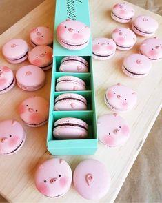 Pig Macarons  ℓιкє тнιѕ ρι? fσℓℓσω мє fσя мσяє@αмутяαи444