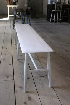 Bleached Maple Sawkille Bench - 5' - SAWKILLE Co.