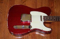 1965 Fender Telecaster Candy Apple Red | eBay