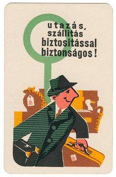 https://flic.kr/p/pnAK1m | hungarian calendar card | 1964
