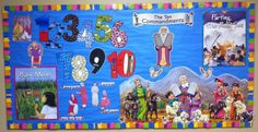 Moses Bulletin Board (some printables and links)