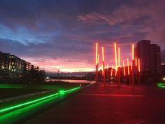 Sunrise Dublin #nofilter #dublin #ireland #discoverdublin #sunrise Dublin Ireland, Marina Bay Sands, Northern Lights, Sunrise, Building, Nature, Travel, Instagram, Naturaleza
