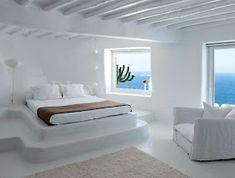 49 Greek Interior Design Rustic and romantic Mykonos villa Mediterranean Bedroom, House Design, Interior, Bedroom Interior, Home Decor, House Interior, Mykonos Villas, Traditional Interior Design, Interior Design