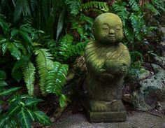 Lovely Buddha statue at The Sanctuary. Koh Phangan, Thailand