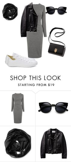 """""""Untitled #10"""" by molly-mahaffey on Polyvore featuring Whistles, Calvin Klein, Converse, women's clothing, women, female, woman, misses and juniors"""