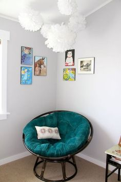Papasan Cushion Diy Dorm Room In 2019 Papasan Cushion