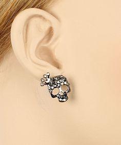 P.S. I Love You More Boutique | Skullie Princess Earrings | www.psiloveyoumoreboutique.com