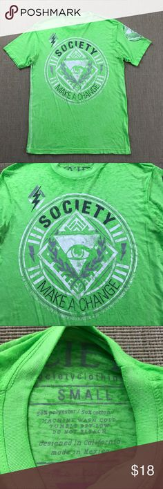 T-shirt S Buckle BKE Society Green Graphic NEW T-shirt S Men's Buckle BKE Society Green Graphic NEW New without tags. BKE Shirts Tees - Short Sleeve