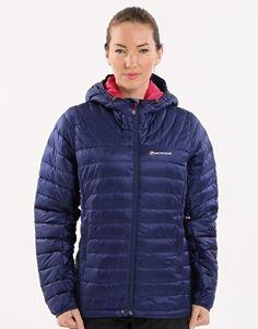 Montane Damen Wut Damen Fleece Kapuzenpullover UK 12 Antarctic Bergsteigen & Klettern
