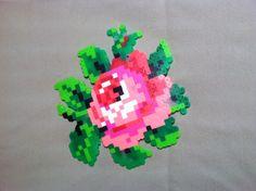 Perler Bead Rose by TwinDeerDesigns on Etsy, $5.00