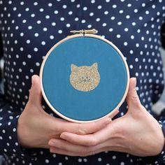 Nouveauté du dimanche soir : les cadres chats se déclinent désormais en bleu canard !  #chats #cats #catstagram #allezlesbleus !!