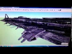 The Aftermath Advanced Capital Assault Supercarrier (ACAS) is the largest fighting ship in Hexiron. Secret Space, Sci Fi, Ship, Youtube, Science Fiction, Ships, Youtubers, Youtube Movies