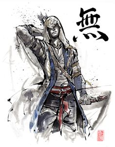 Assassin's Creed Sumie style...