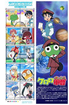 Keroro stamps