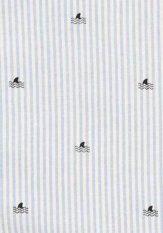 Finstripe Shirt (Sky / Blanc)