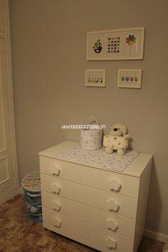 El taller de flory pondy cambiador para beb comoda malm - Comoda malm 4 cajones ...