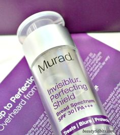 Perfect for even the most finicky SPF wearers, Murad Invisiblur Perfecting Shield SPF 30 is a CLEAR sunscreen that's invisible on skin! Truly multi-tasking, not only does it blend sunscreen and makeup primer in one but it's also an anti-aging treatment and instant mattifier!