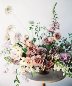 9 Quick Clever Tips: Wedding Flowers Pastel Floral Arrangements wedding flowers colorful spring. Wedding Table Centerpieces, Wedding Flower Arrangements, Wedding Bouquets, Wedding Decorations, Flower Bouquets, Large Floral Arrangements, Succulent Centerpieces, Floral Centerpieces, Centrepieces
