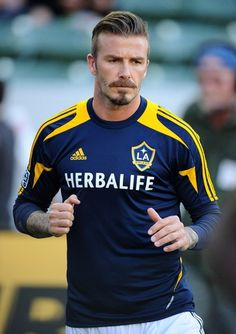 David Beckham British Footballer