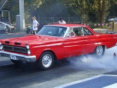 1965 Mercury Comet Cyclone. Awesome! I've been reading about one of these being restored.