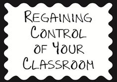 A short blog of tips for classroom management ideas.
