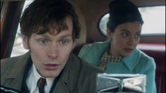 Shaun Evans and Sara Vickers - Morse and Joan's Scenes - Endeavour