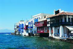"""Little Venice"", Mykonos, Greece"